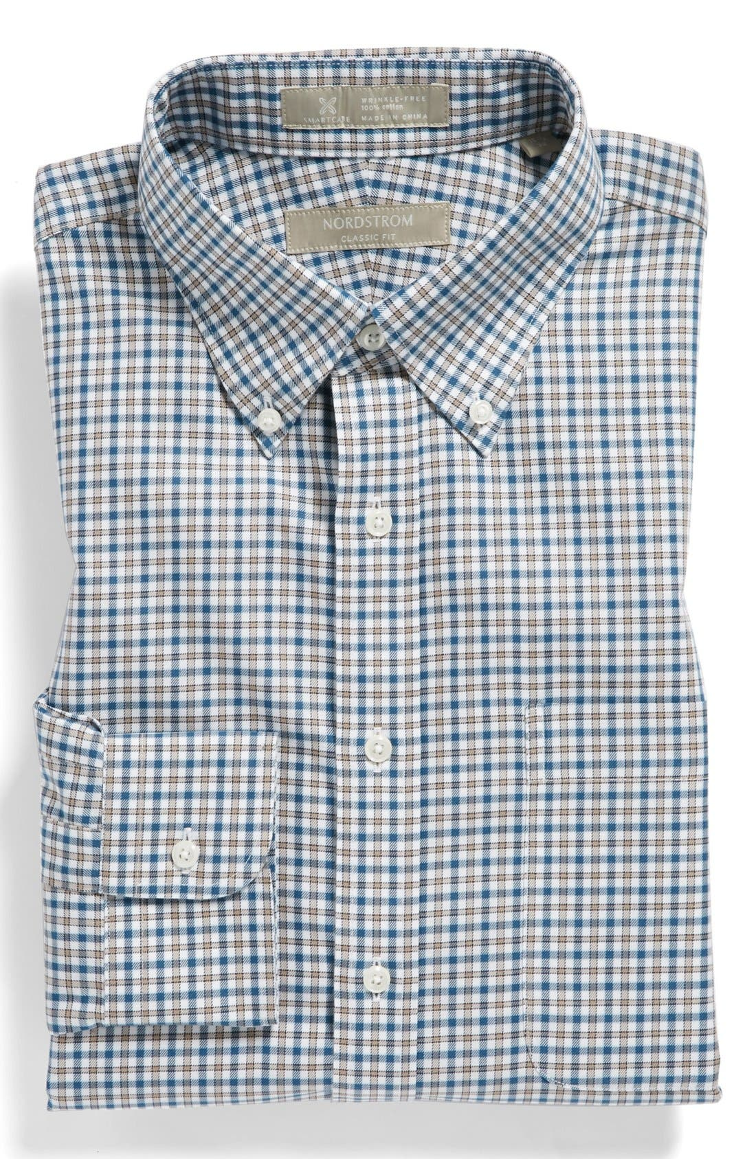 Alternate Image 1 Selected - Nordstrom Smartcare™ Wrinkle Free Classic Fit Dress Shirt