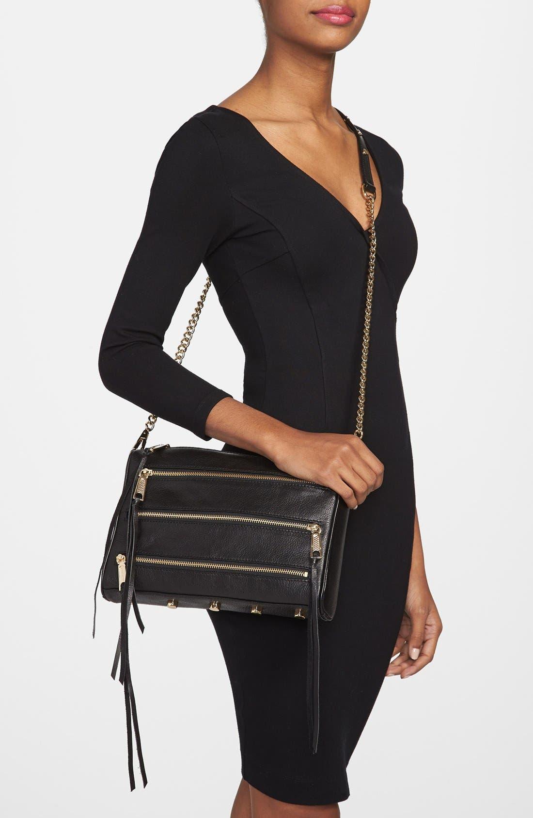 Alternate Image 2  - Rebecca Minkoff '5-Zip' Crossbody Bag