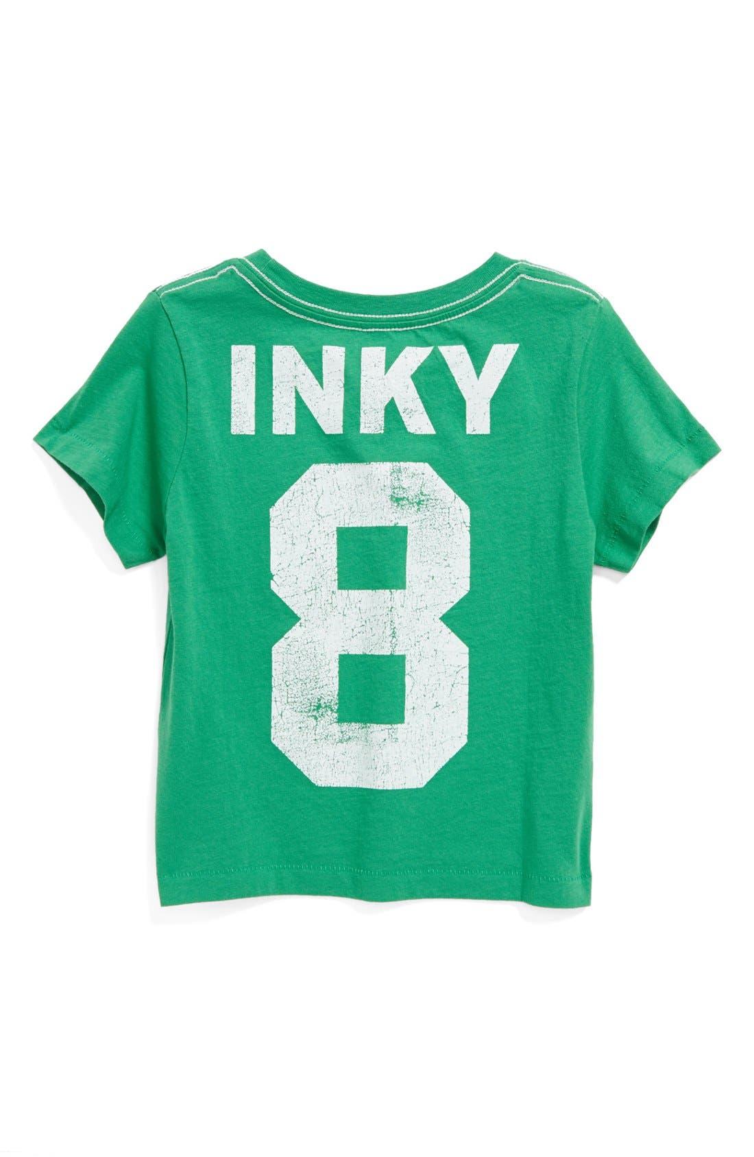 Alternate Image 2  - Peek 'Inky Octopus' T-Shirt (Baby Boys)