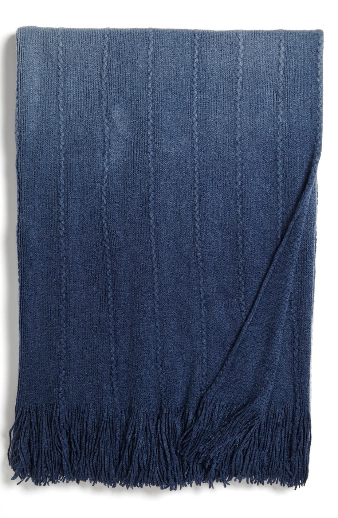 Alternate Image 1 Selected - Kennebunk Home 'Bainbridge Ombré' Throw