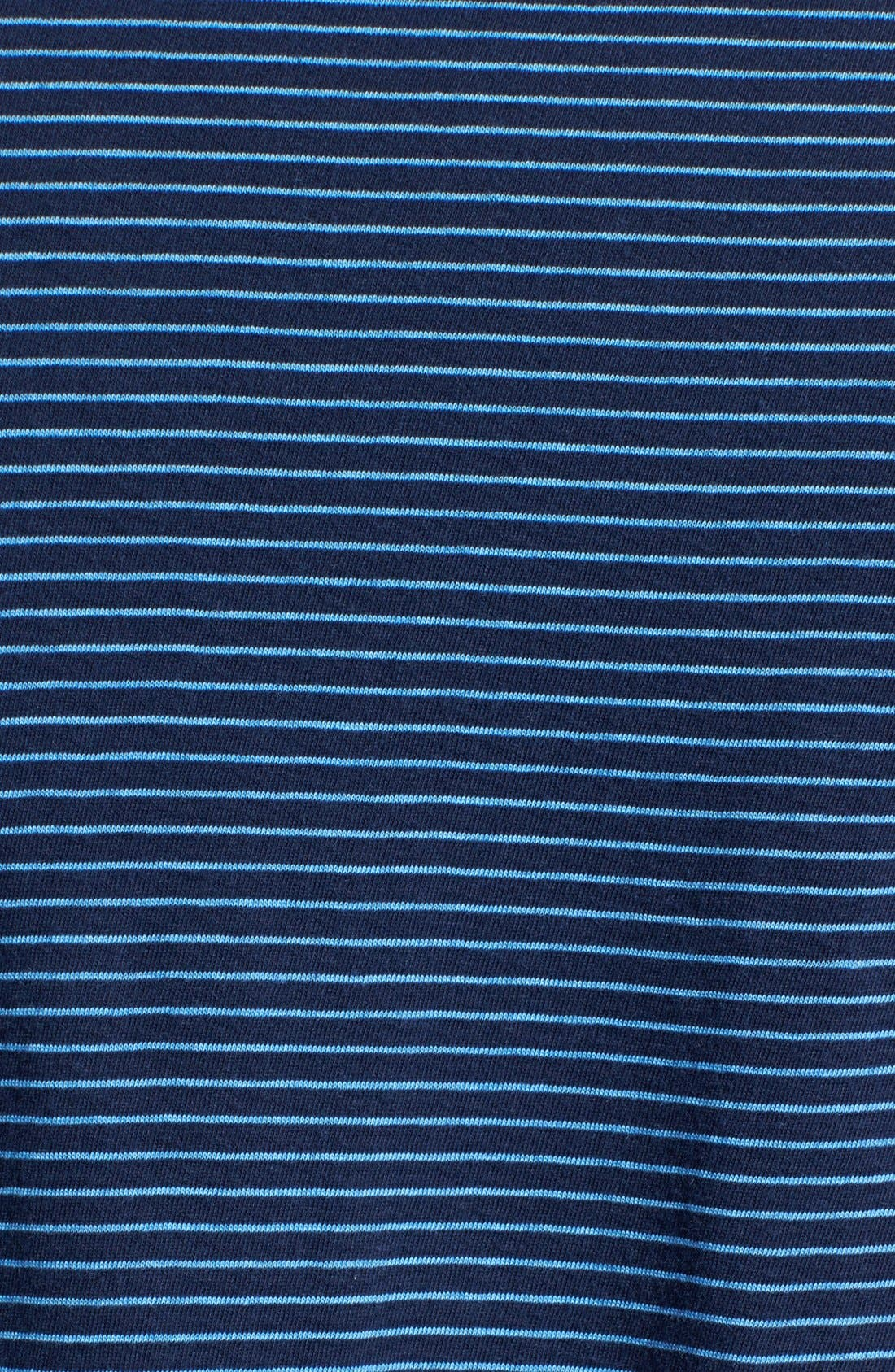 Alternate Image 3  - Save Khaki Stripe Jersey Polo
