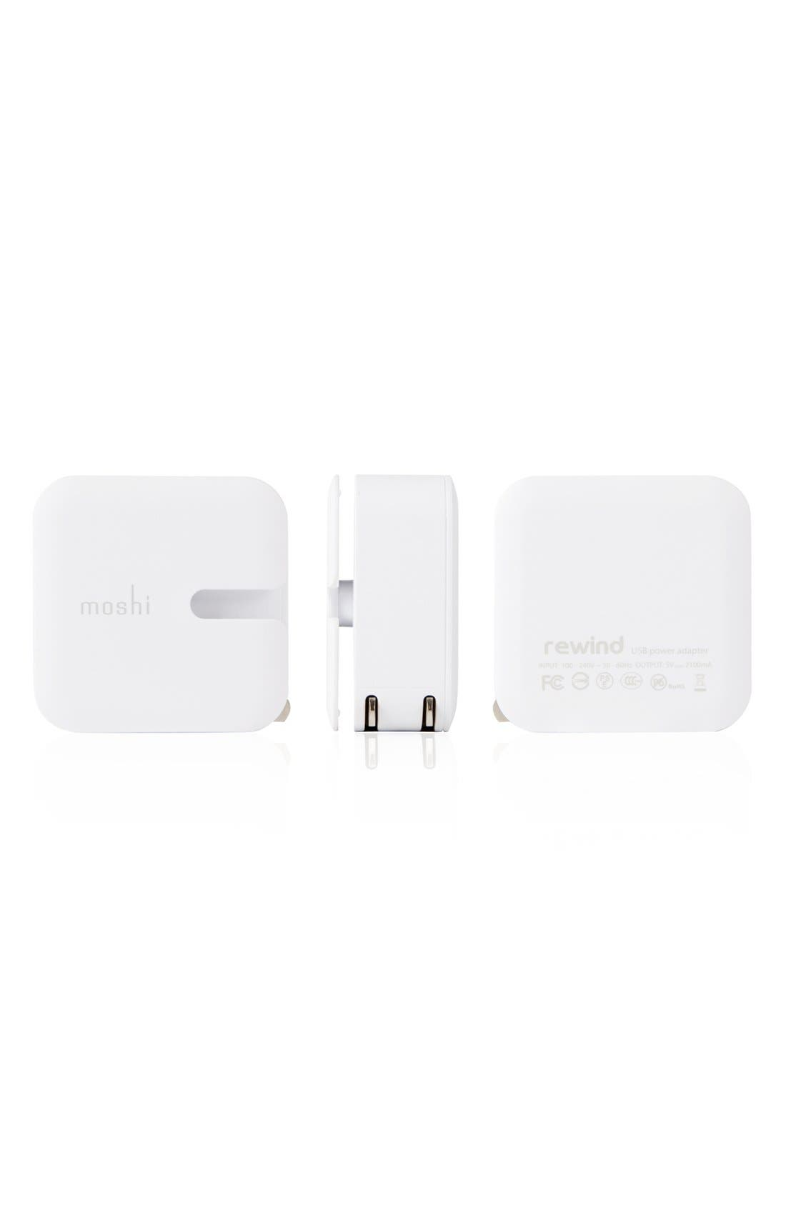 Alternate Image 4  - Moshi 'Rewind Duo' 10W USB Wall Charger