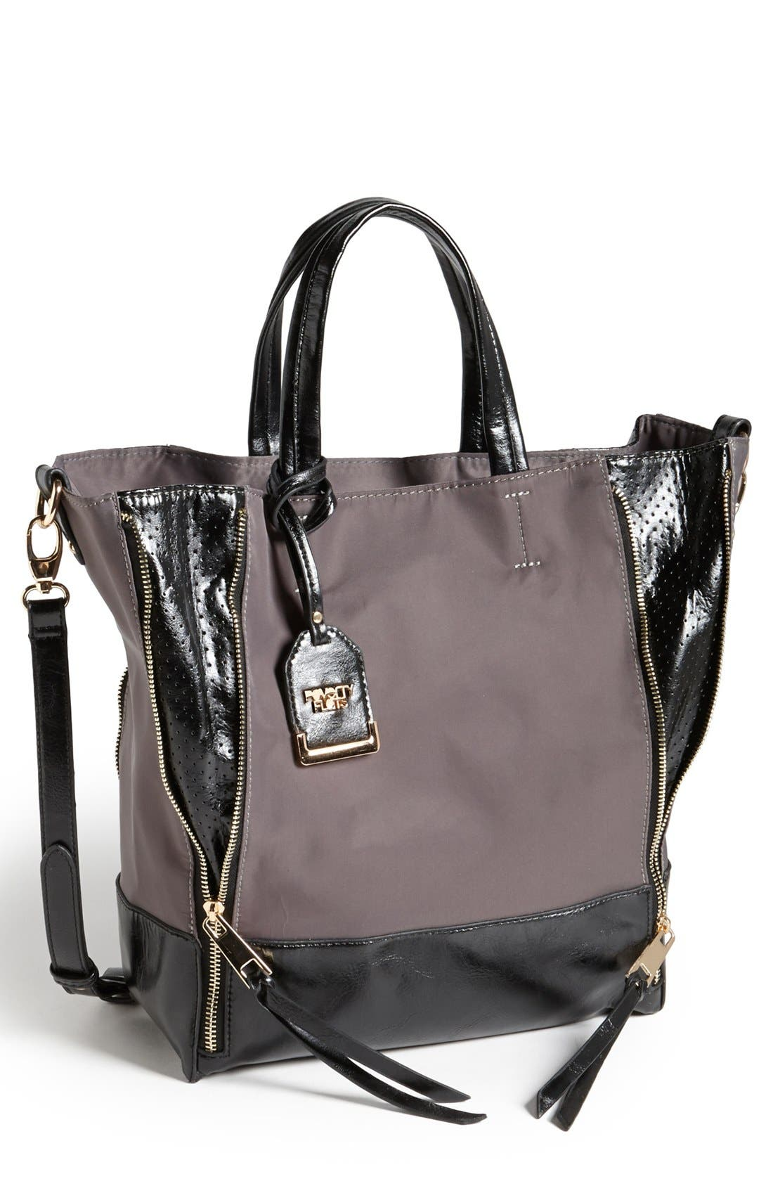Alternate Image 1 Selected - POVERTY FLATS by rian Two-Tone Crossbody Tote