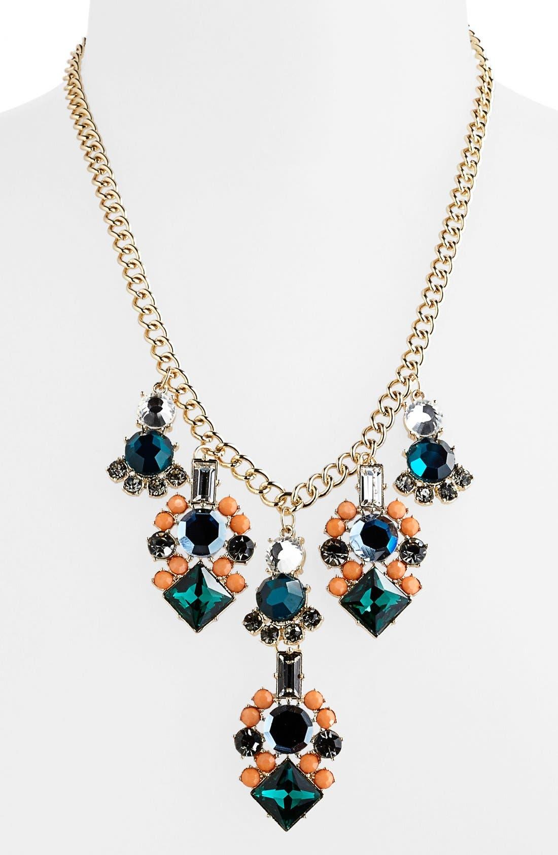 Alternate Image 1 Selected - Tildon 'Vintage' Statement Necklace