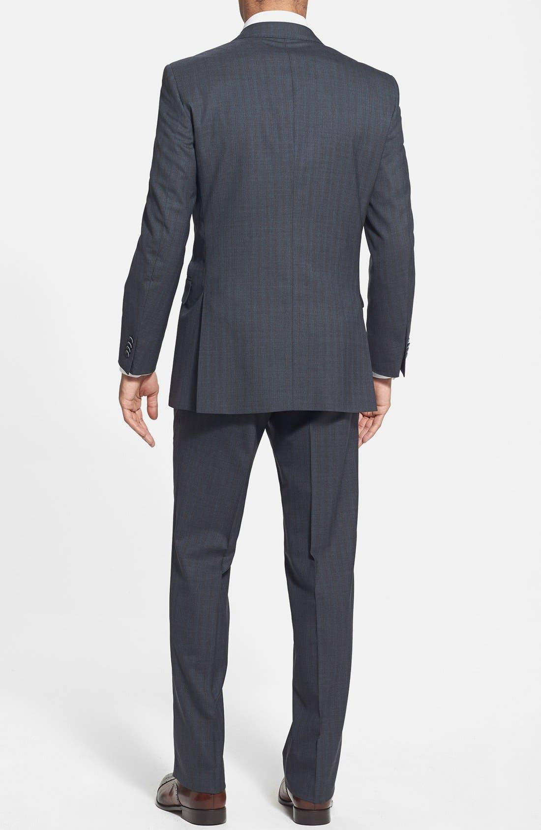 Alternate Image 2  - Peter Millar Classic Fit Stripe Suit