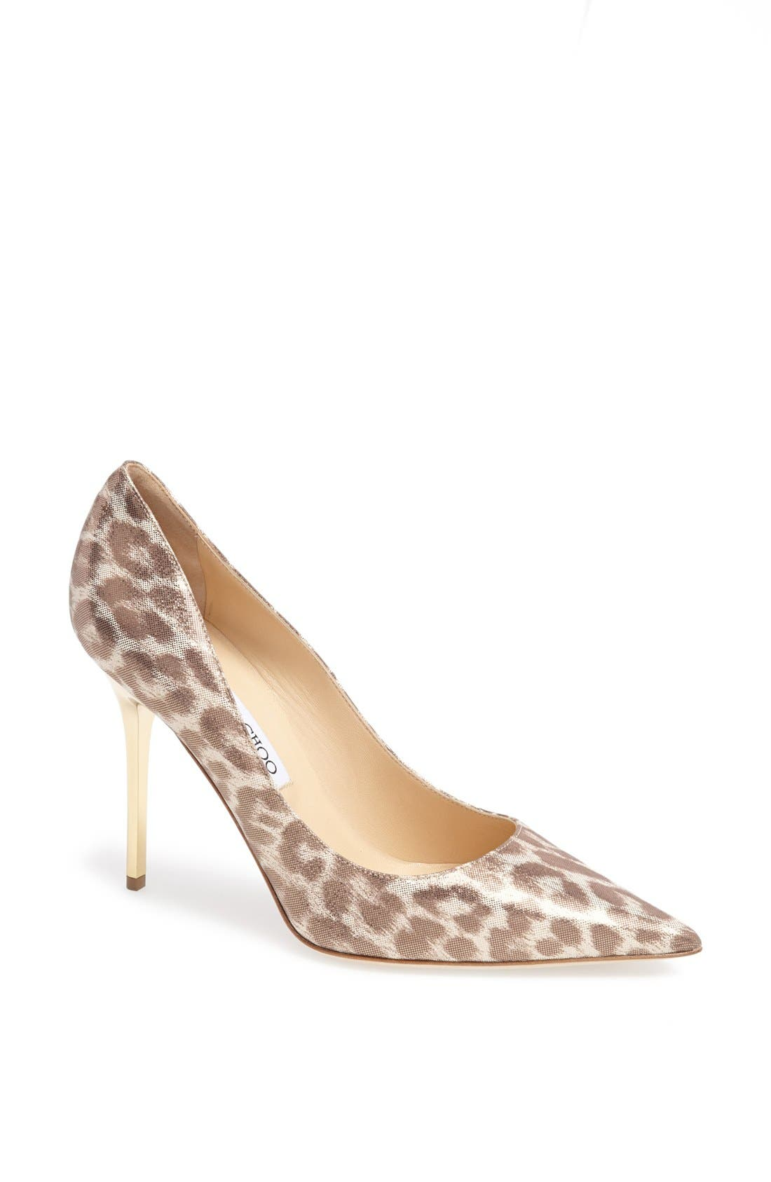 Alternate Image 1 Selected - Jimmy Choo 'Abel' Pointy Toe Pump
