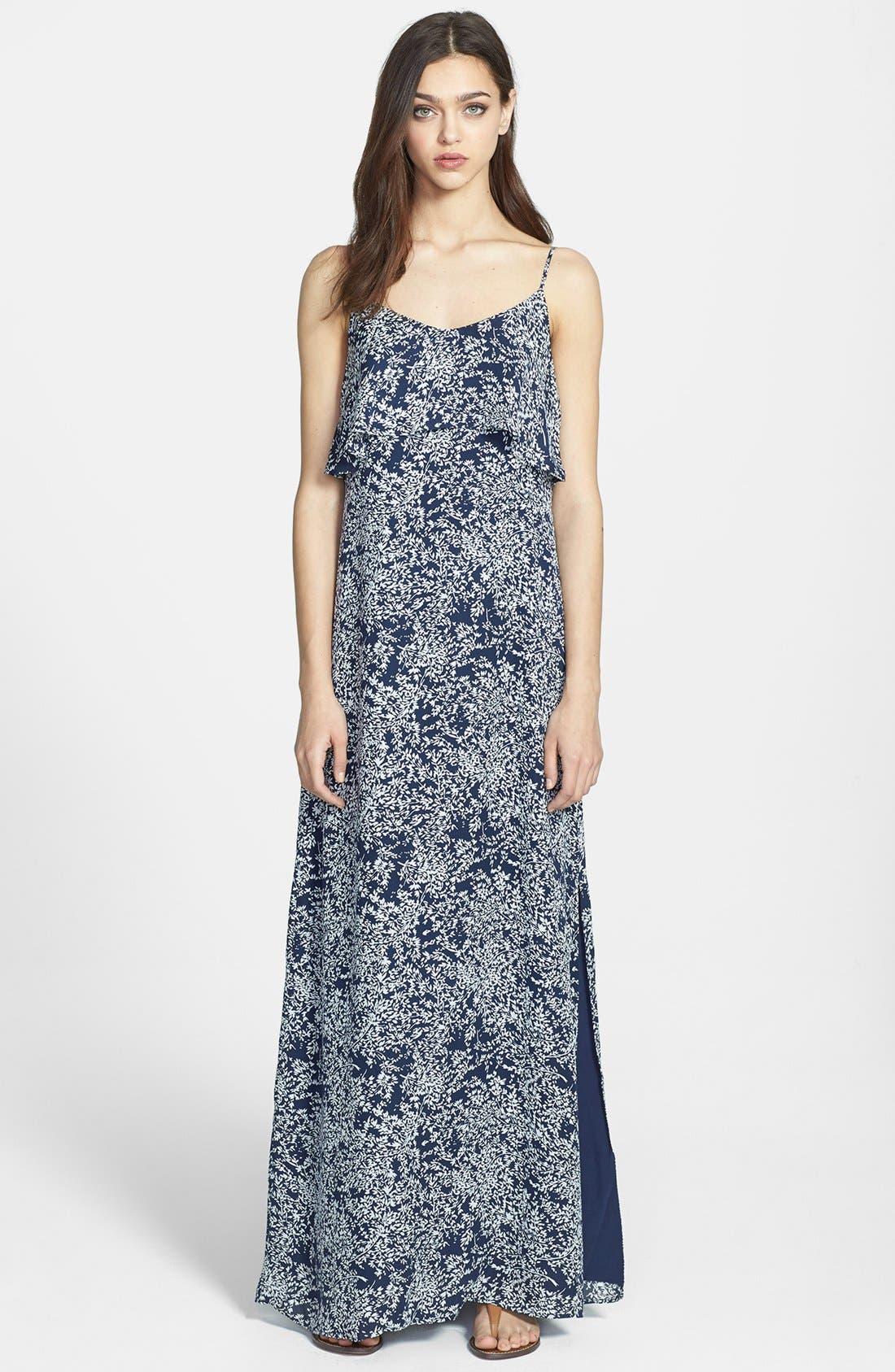 Main Image - Joie 'Hydeia' Tiered Silk Maxi Dress