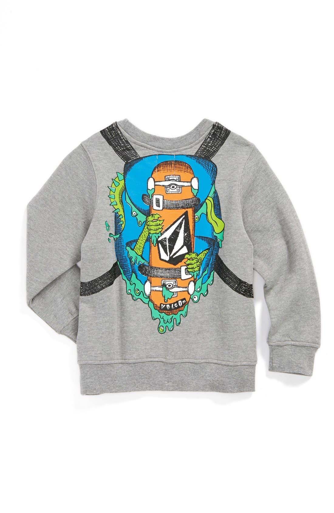 Alternate Image 2  - Volcom 'Reconeryo' Sweatshirt (Little Boys)
