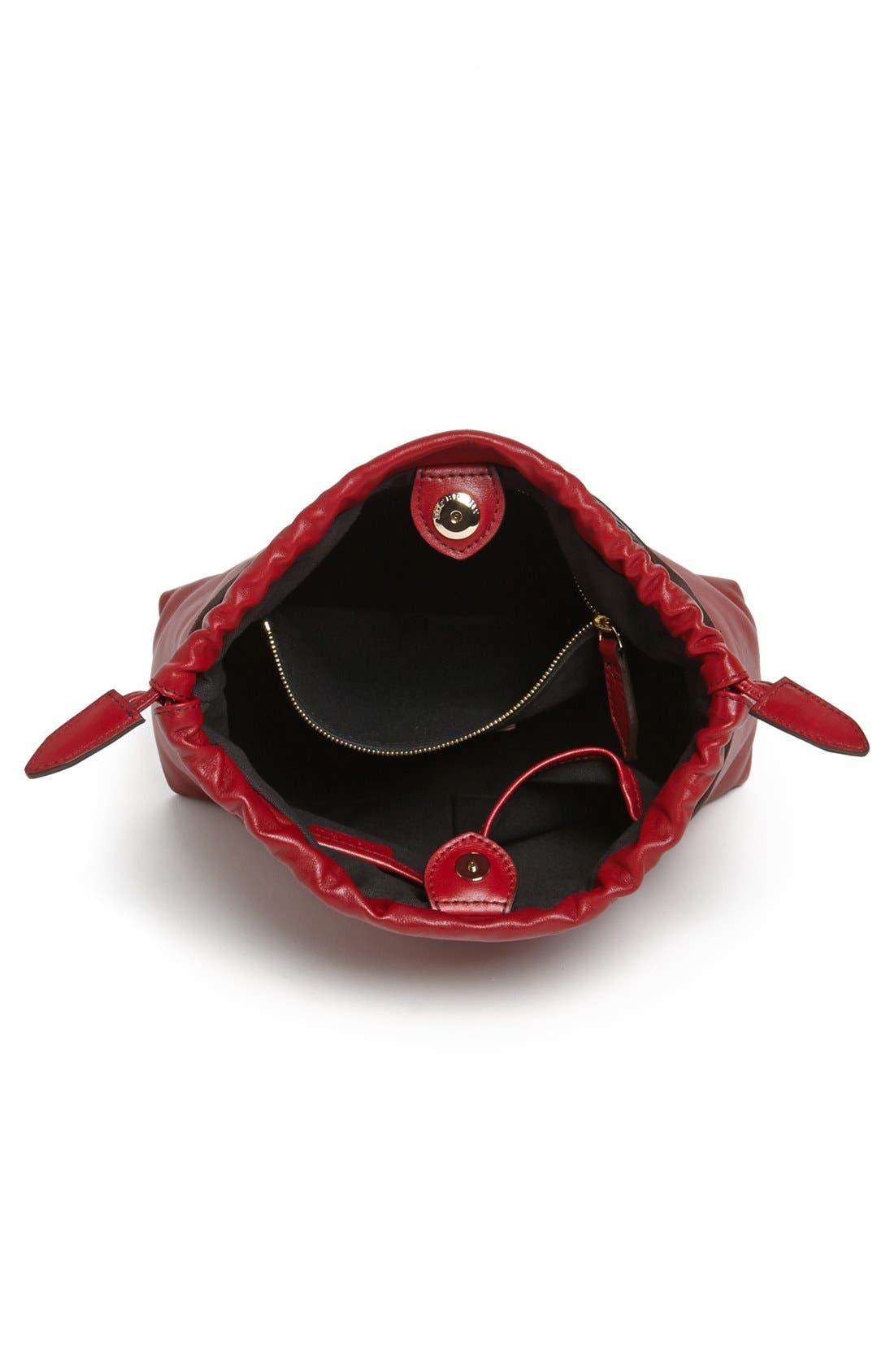 Alternate Image 3  - Burberry 'Little Crush - House Check' Leather Crossbody Bag