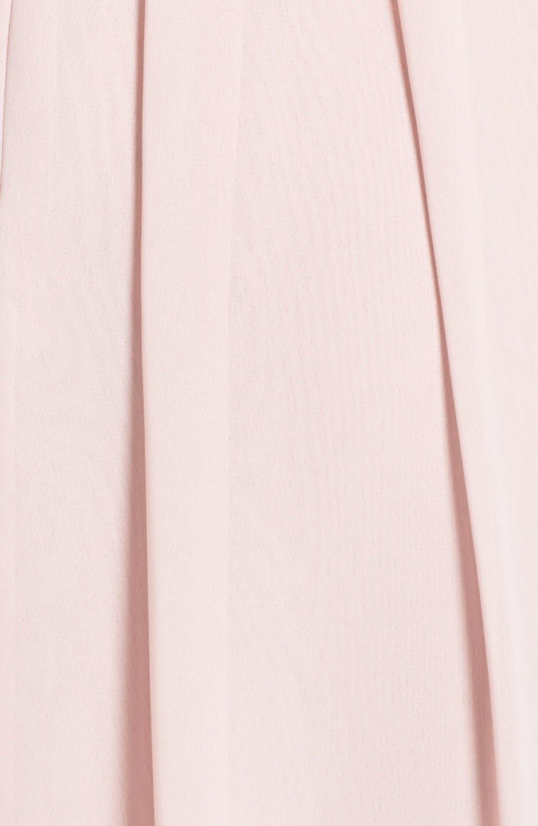 Alternate Image 3  - Eliza J Front Drape Chiffon Dress