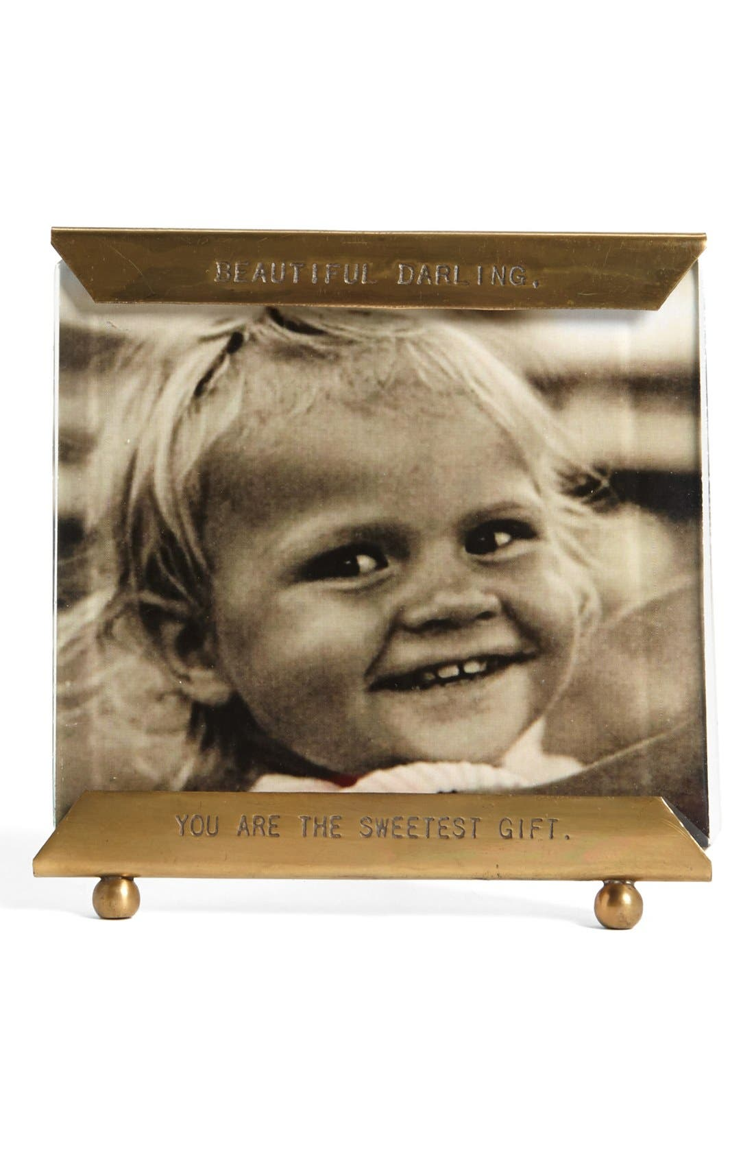 Alternate Image 1 Selected - Sugarboo Designs 'Beautiful Darling, You Are the Sweetest Gift' Frame
