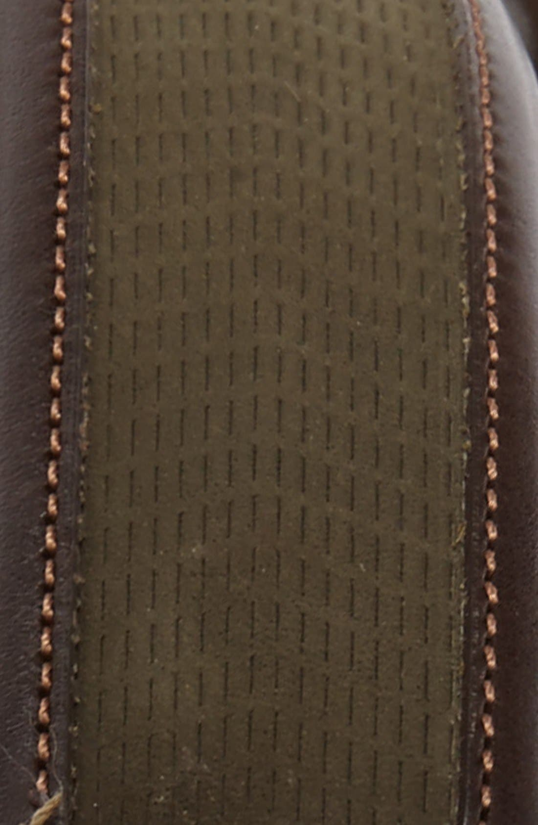 Alternate Image 2  - Mezlan Nubuck Leather Belt