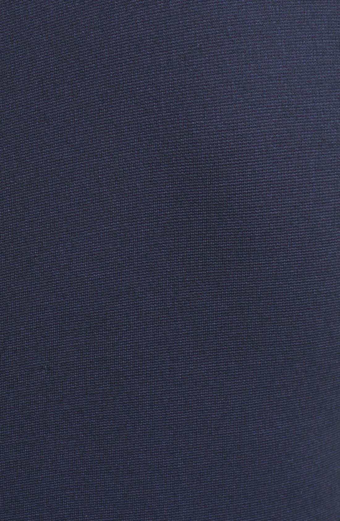 Alternate Image 3  - Armani Collezioni Ruched Waist Matte Jersey Dress