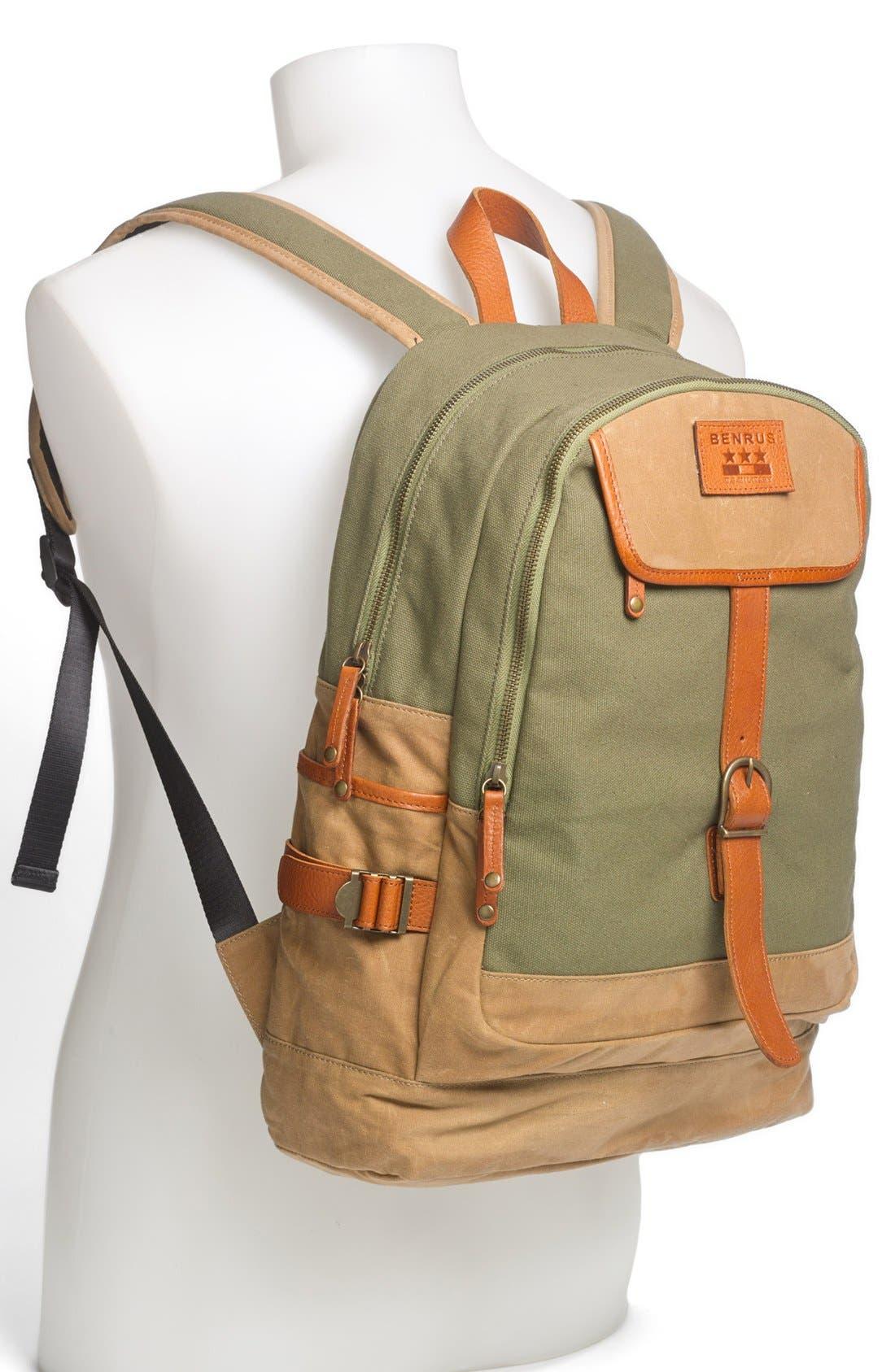 Alternate Image 4  - Benrus 'Sentry' Backpack