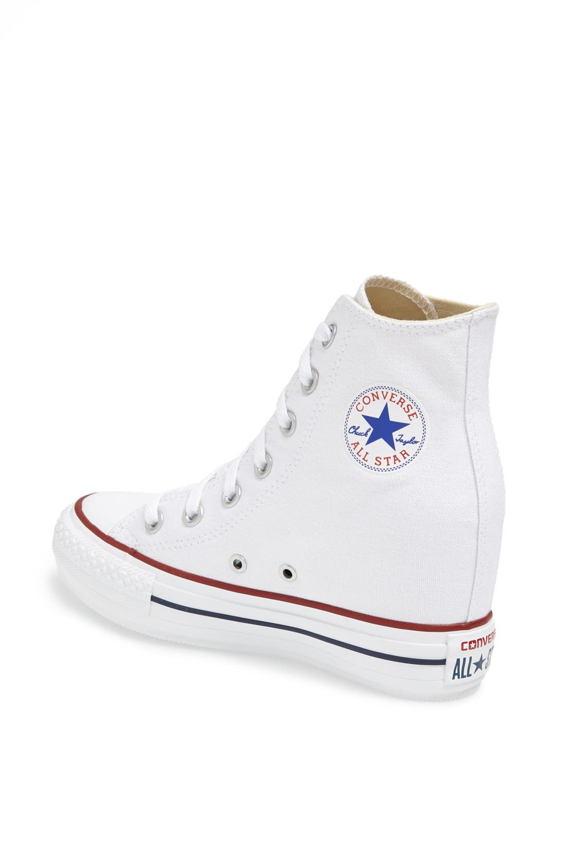 Alternate Image 2  - Converse Chuck Taylor® All Star® Hidden Wedge Platform High-Top Sneaker