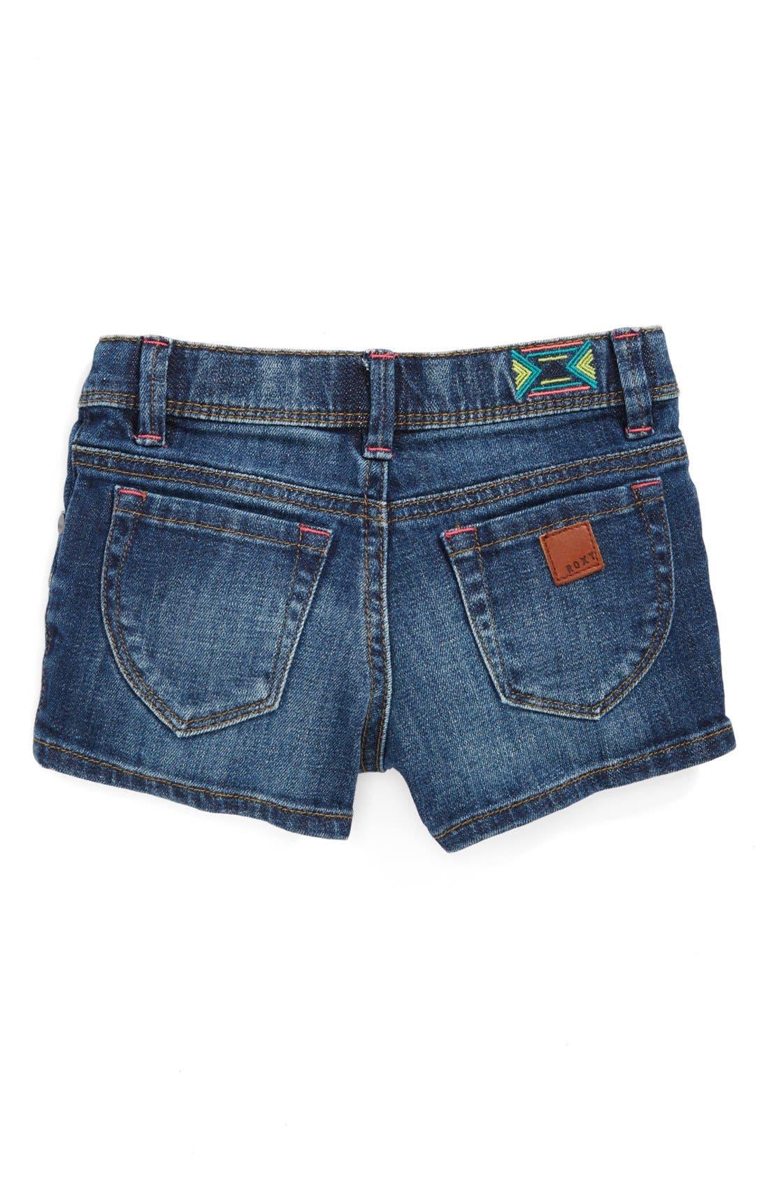 Alternate Image 2  - Roxy 'Lisy' Shorts (Toddler Girls)