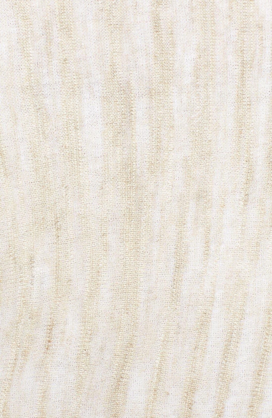 Alternate Image 3  - Eileen Fisher Linen Blend Poncho (Plus Size)