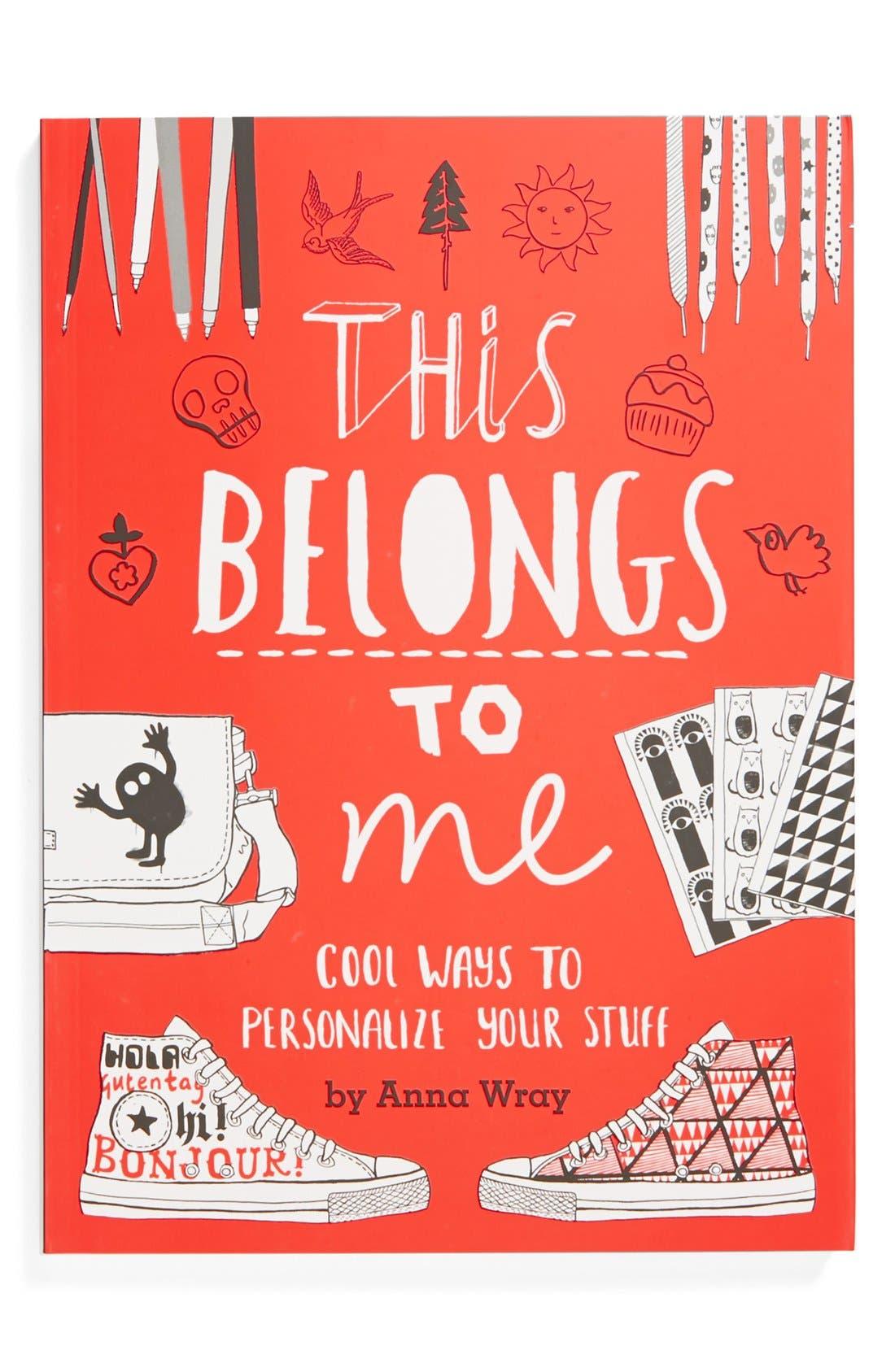 Alternate Image 1 Selected - 'This Belongs To Me' Book