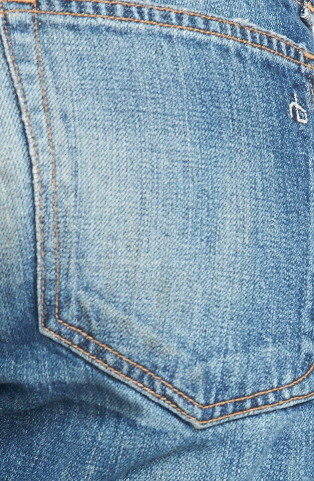 Alternate Image 3  - rag & bone/JEAN Boyfriend Jeans (Buckley)