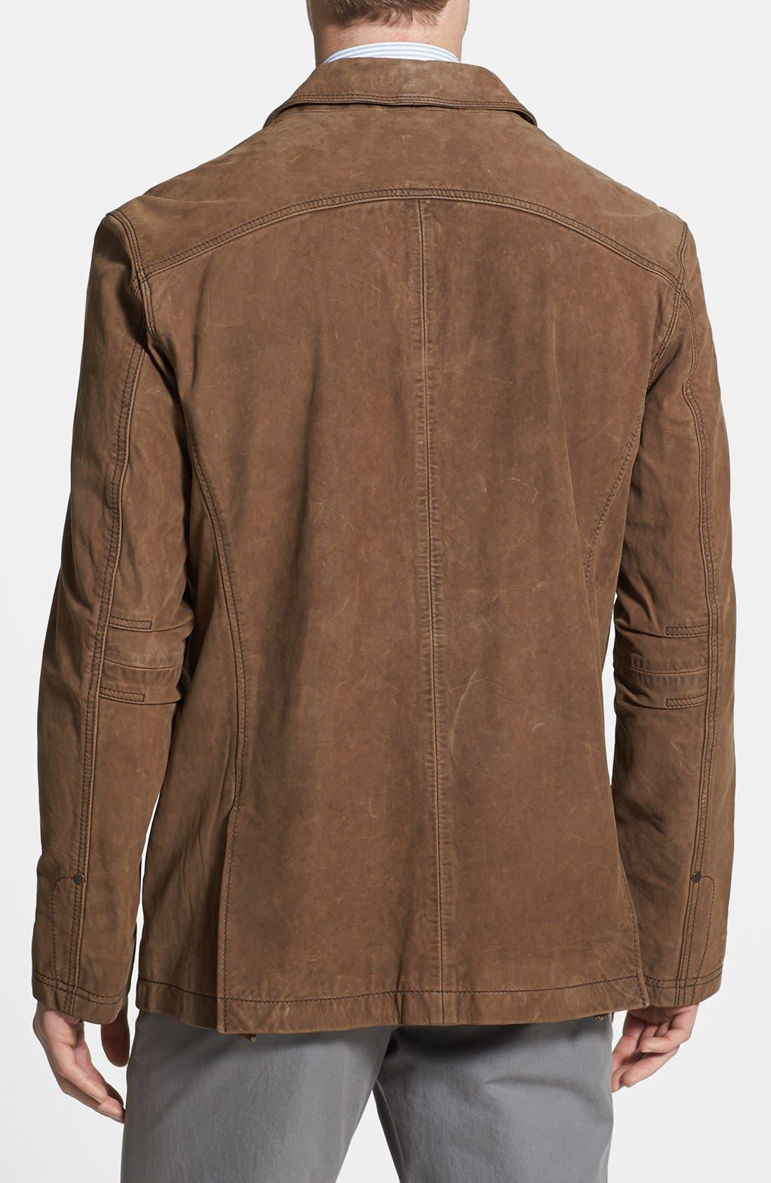 Alternate Image 2  - Timberland 'Bayview' Nubuck Leather Sport Coat