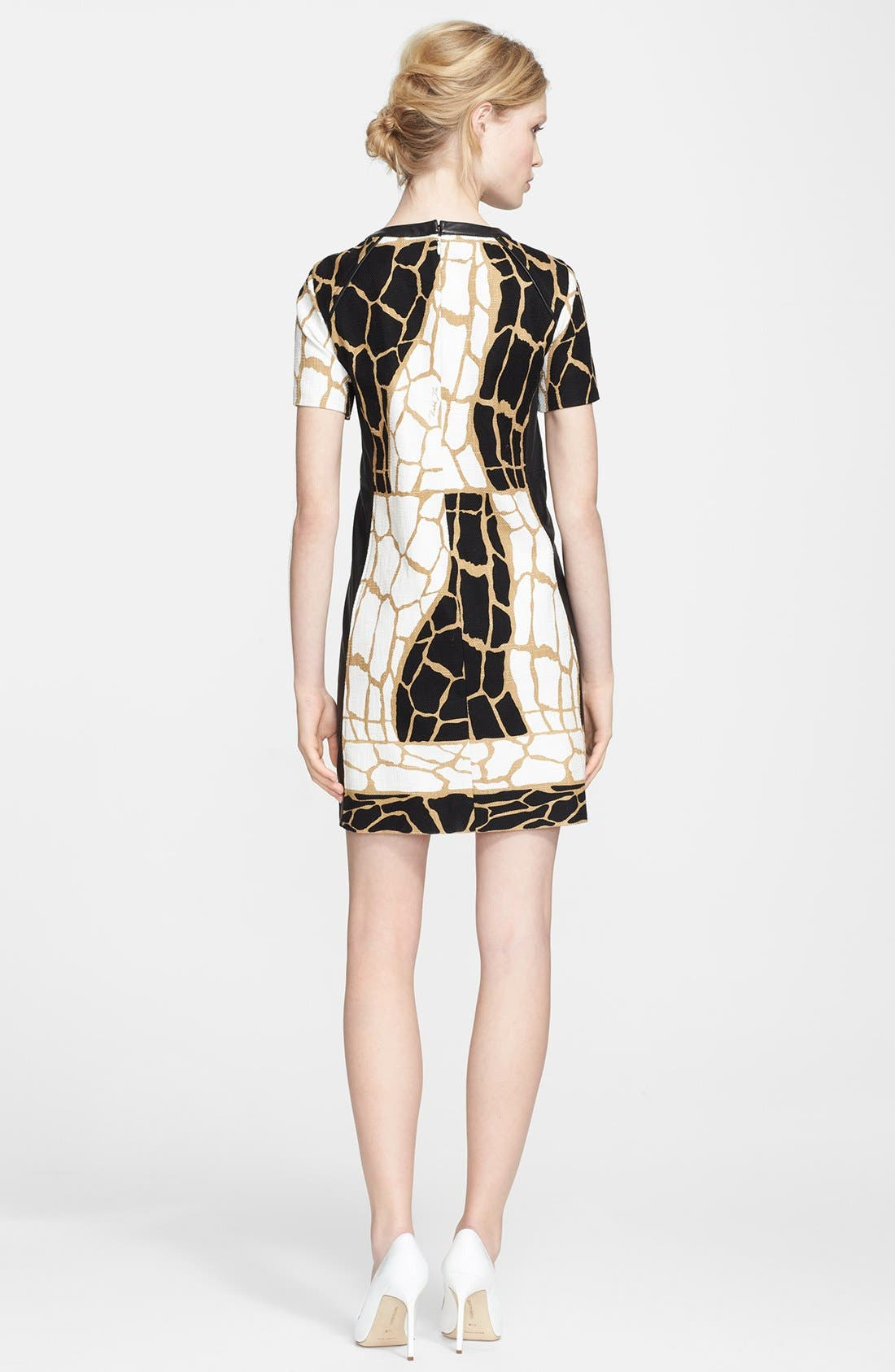 Alternate Image 2  - Rachel Zoe 'Landon' Giraffe Print Dress