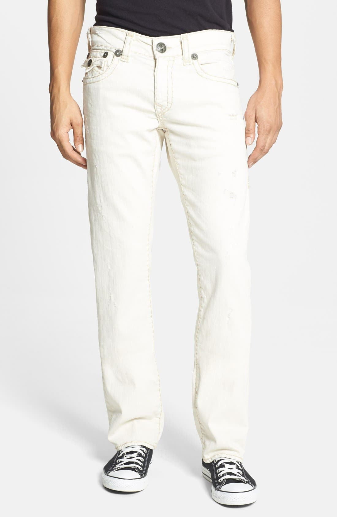 Alternate Image 2  - True Religion Brand Jeans 'Ricky' Relaxed Fit Jeans (Bak Joshua Tree)