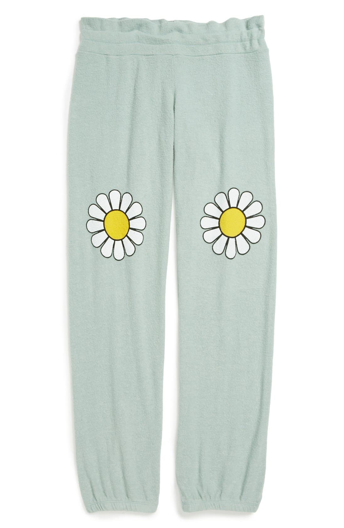 Alternate Image 1 Selected - Wildfox 'Oh Daisy' Pants (Big Girls)