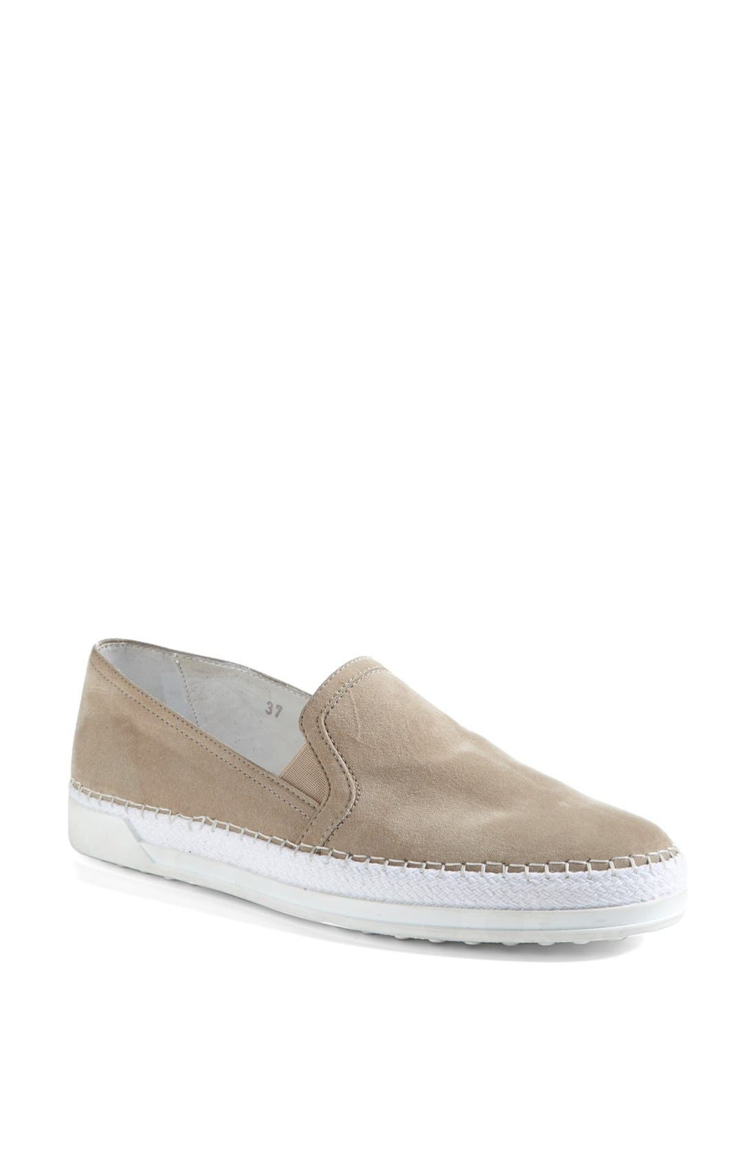 Alternate Image 1 Selected - Tod's Suede Slip-On