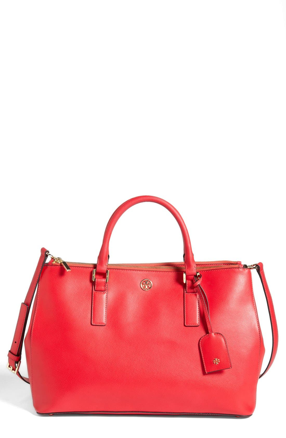 Alternate Image 1 Selected - Tory Burch 'Robinson - Double Zip' Tote