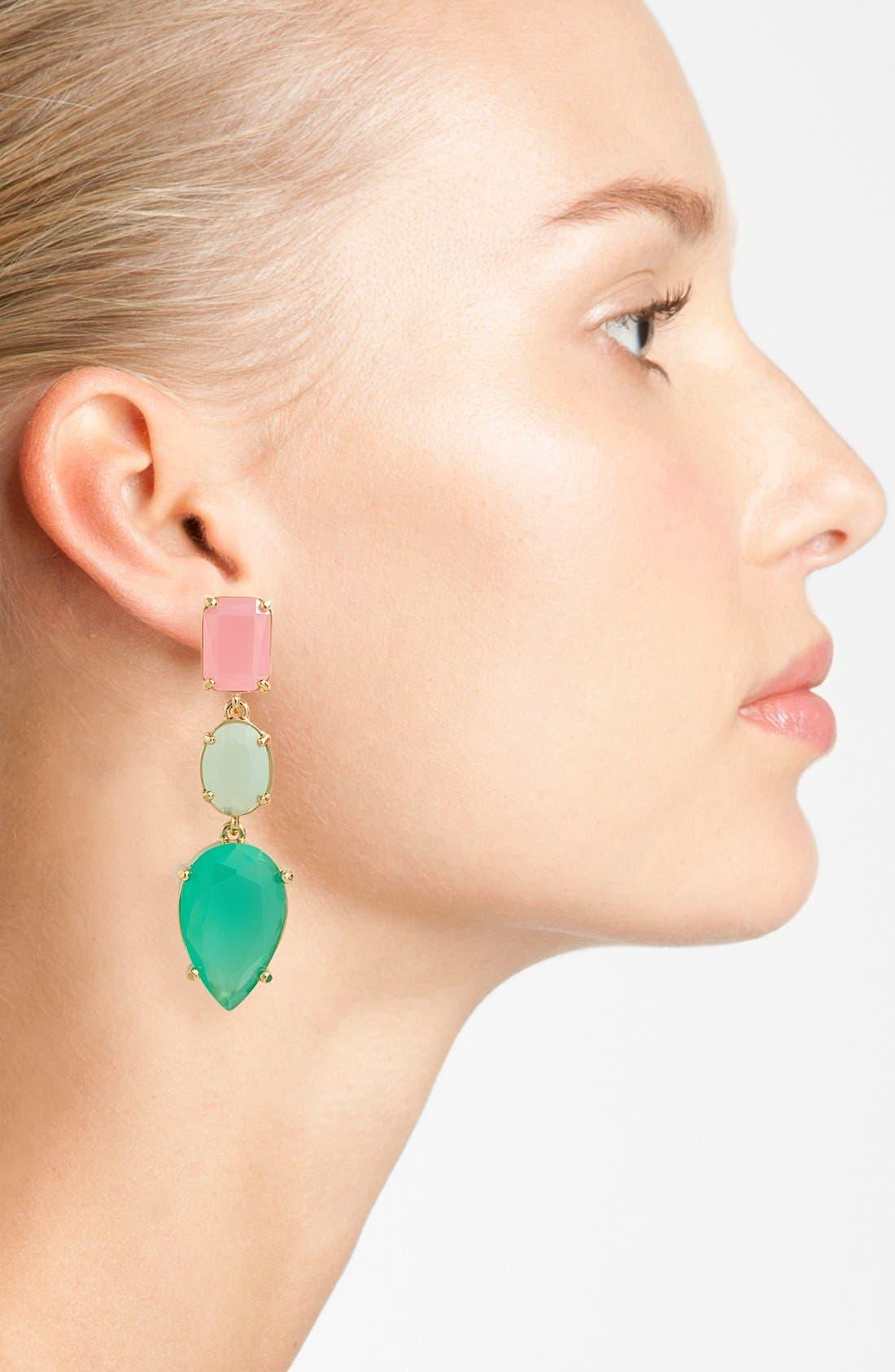Alternate Image 2  - kate spade new york 'gumdrop gems' drop earrings