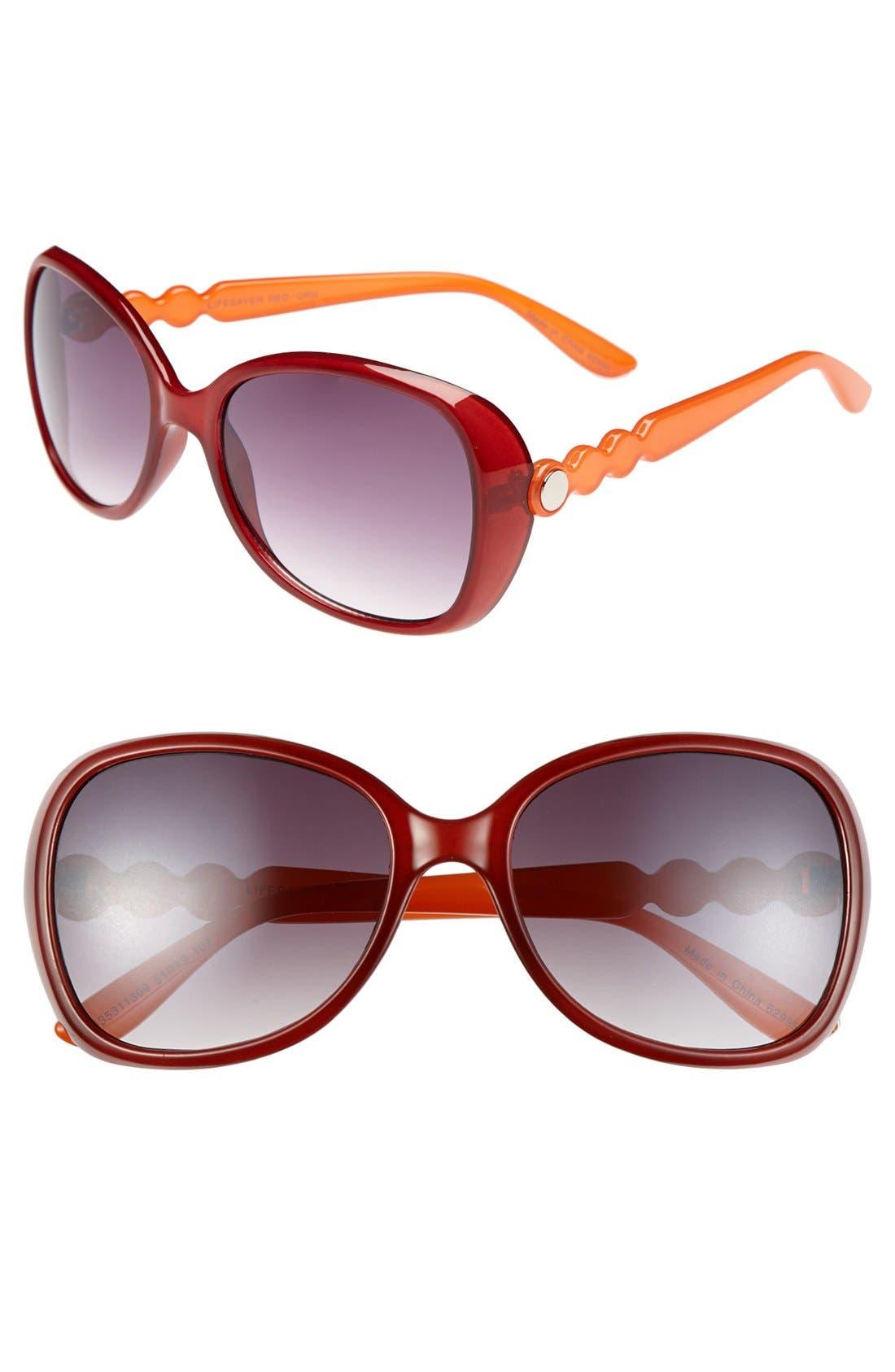 Alternate Image 1 Selected - Outlook Eyewear 'Lifesaver' 55mm Sunglasses
