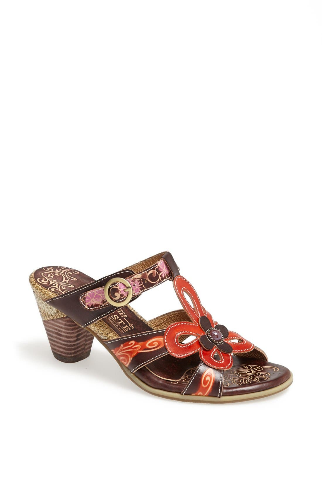 Alternate Image 1 Selected - Spring Step 'Queenie' Leather Sandal