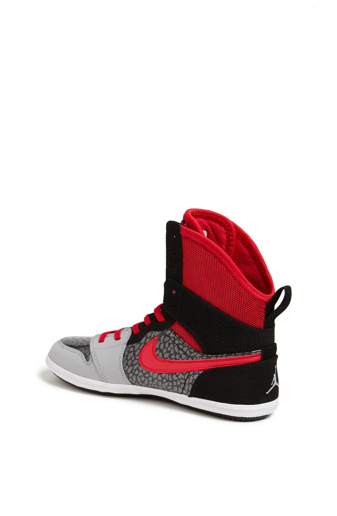 Alternate Image 2  - Nike 'Jordan 1 Skinny High' Sneaker (Big Kid)