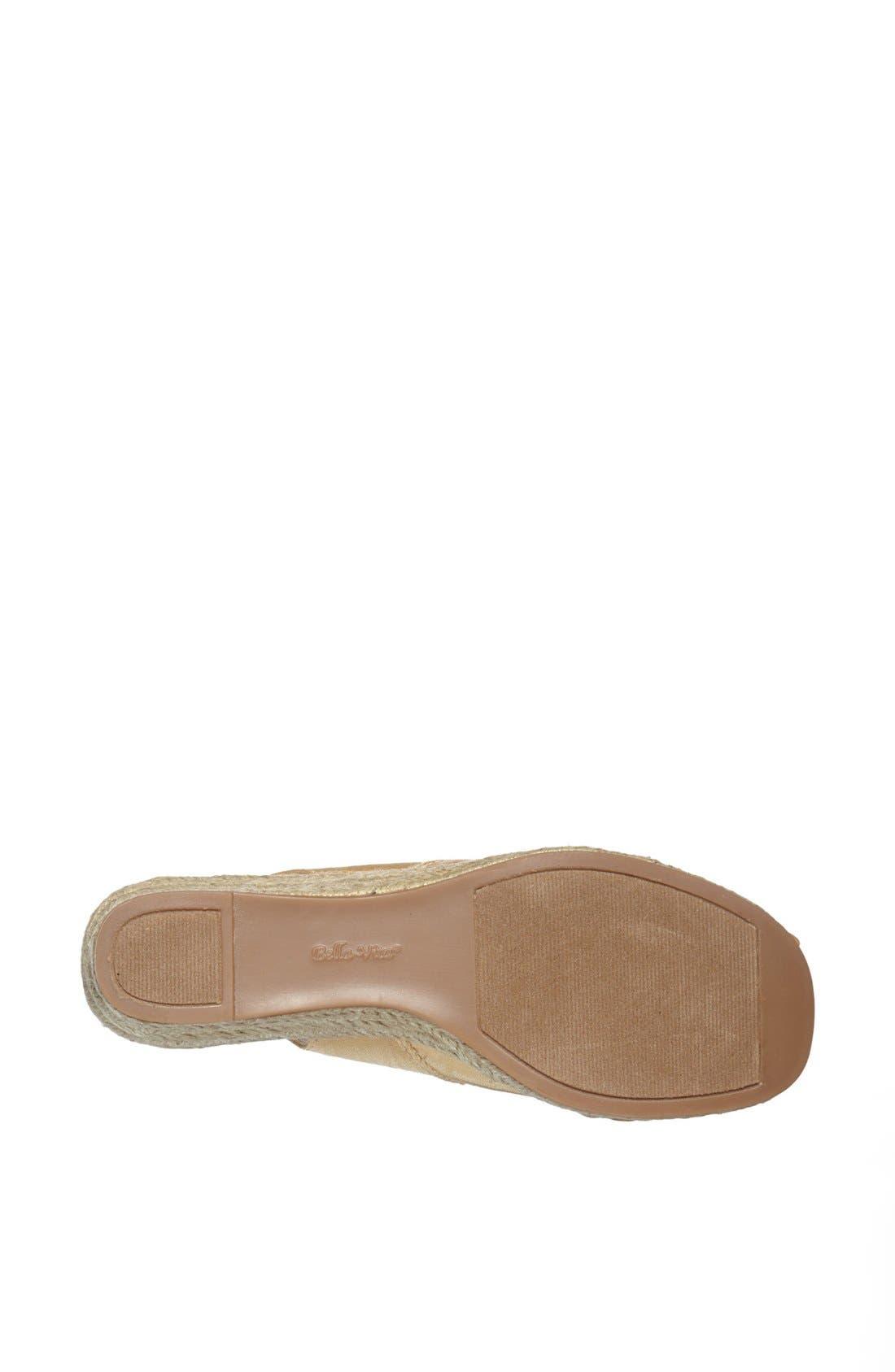 Alternate Image 4  - Bella Vita 'Sangria' Peep Toe Wedge Espadrille