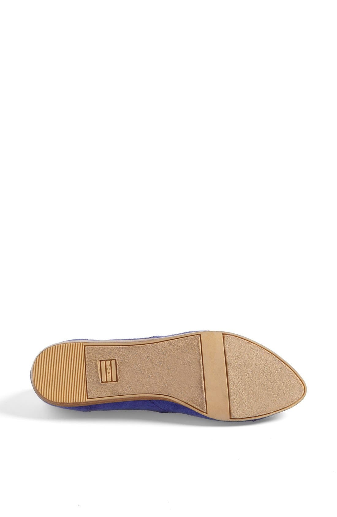 Alternate Image 4  - TOMS 'Jutti' Slip-On (Women)