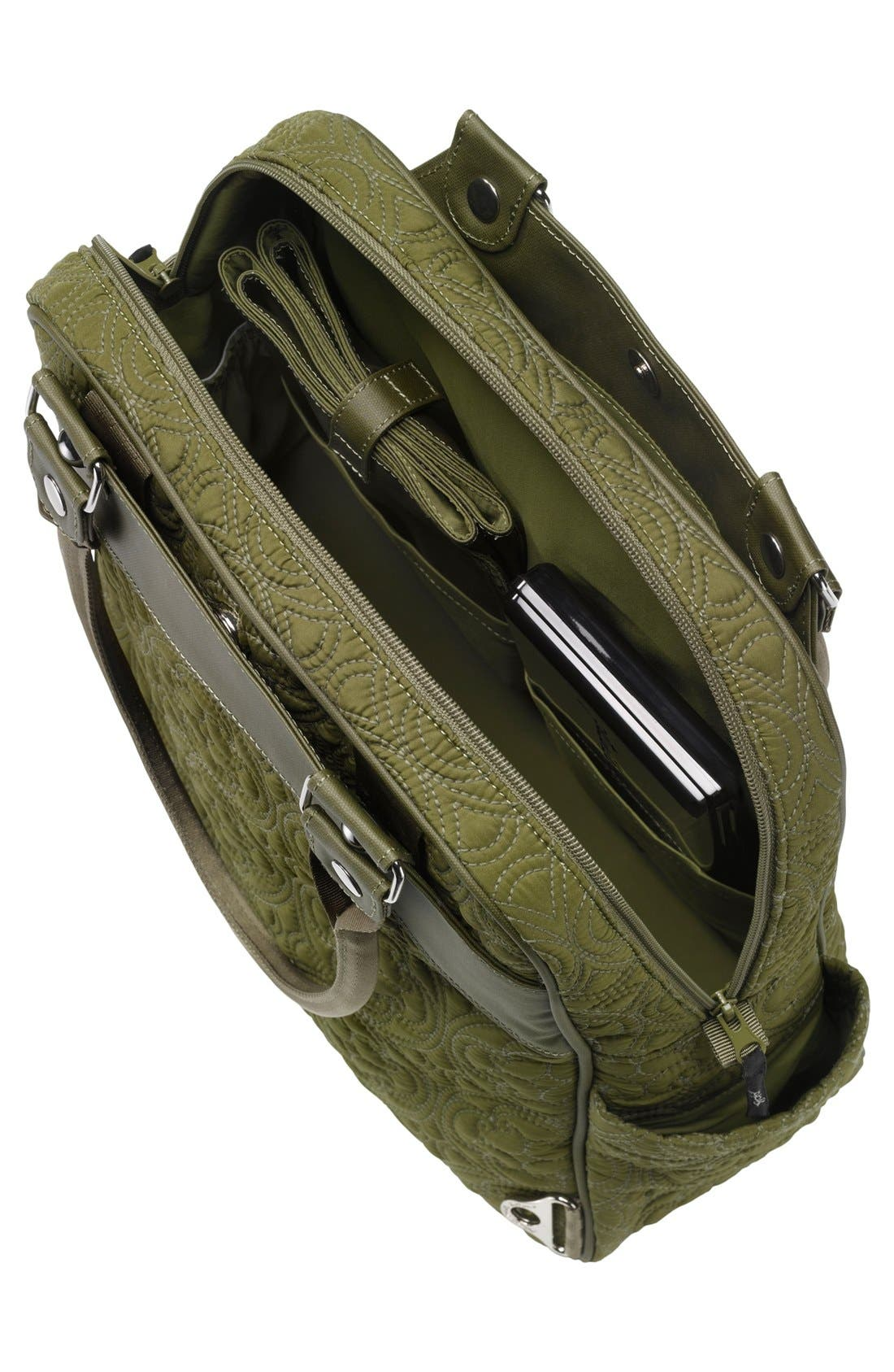 Alternate Image 3  - Petunia Pickle Bottom 'Embossed Sashay Satchel' Diaper Bag
