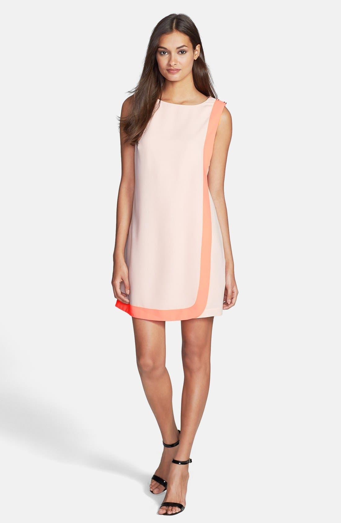Alternate Image 1 Selected - Ted Baker London Woven Tunic Dress