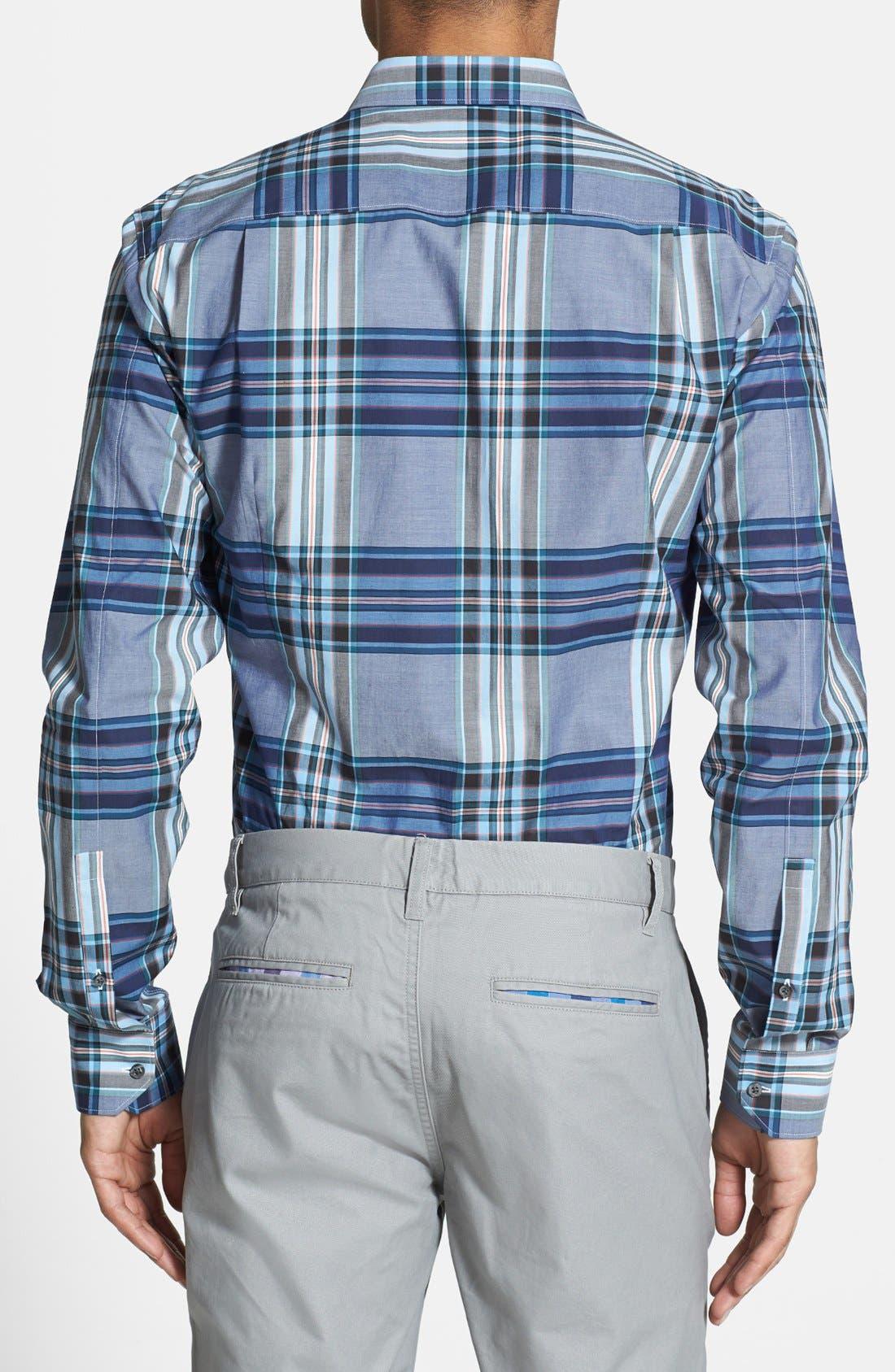 Alternate Image 2  - HUGO 'Elisha' Slim Fit Sport Shirt