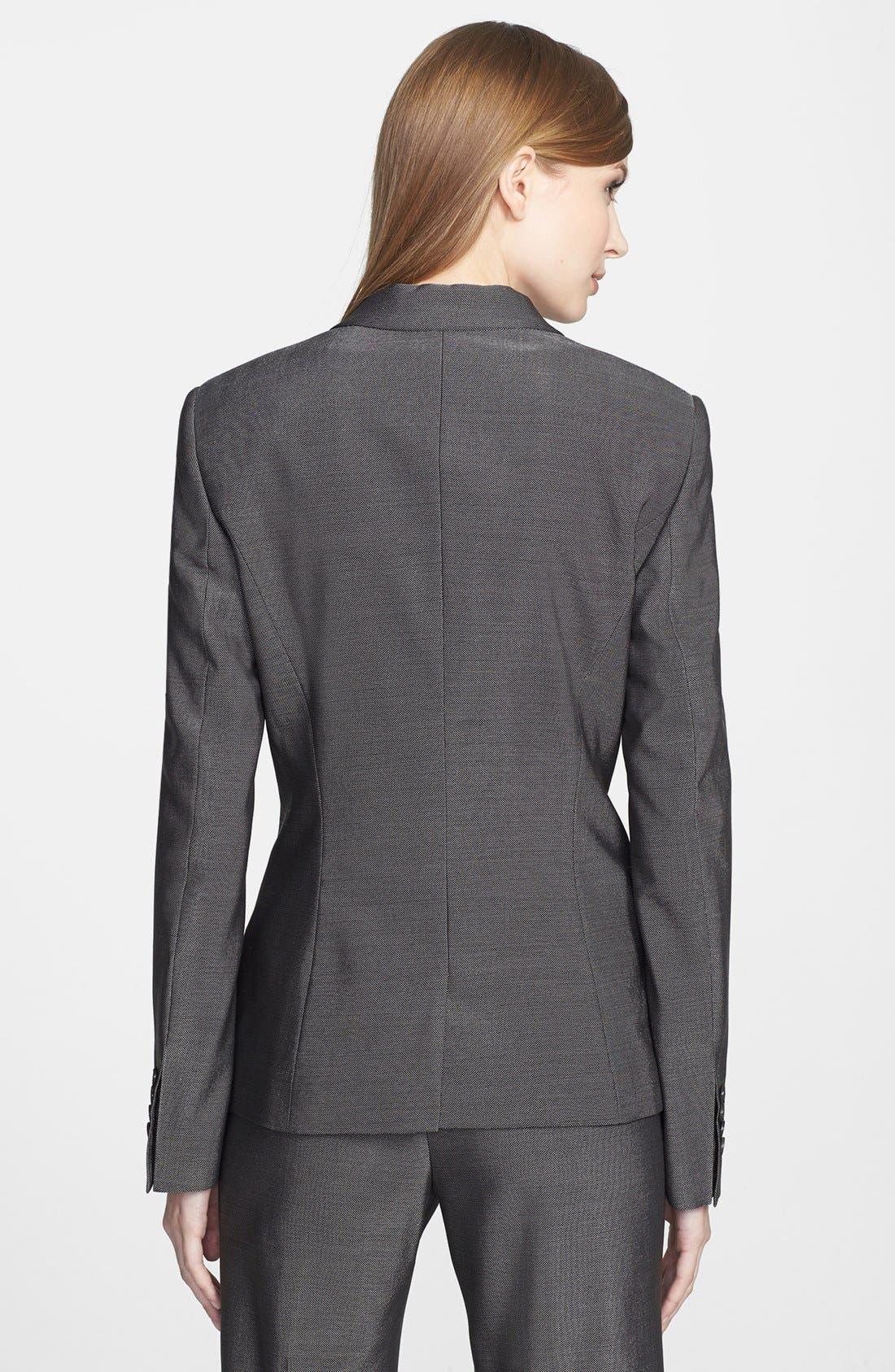 Alternate Image 2  - BOSS HUGO BOSS 'Jolisa' Stretch Wool Suiting Jacket