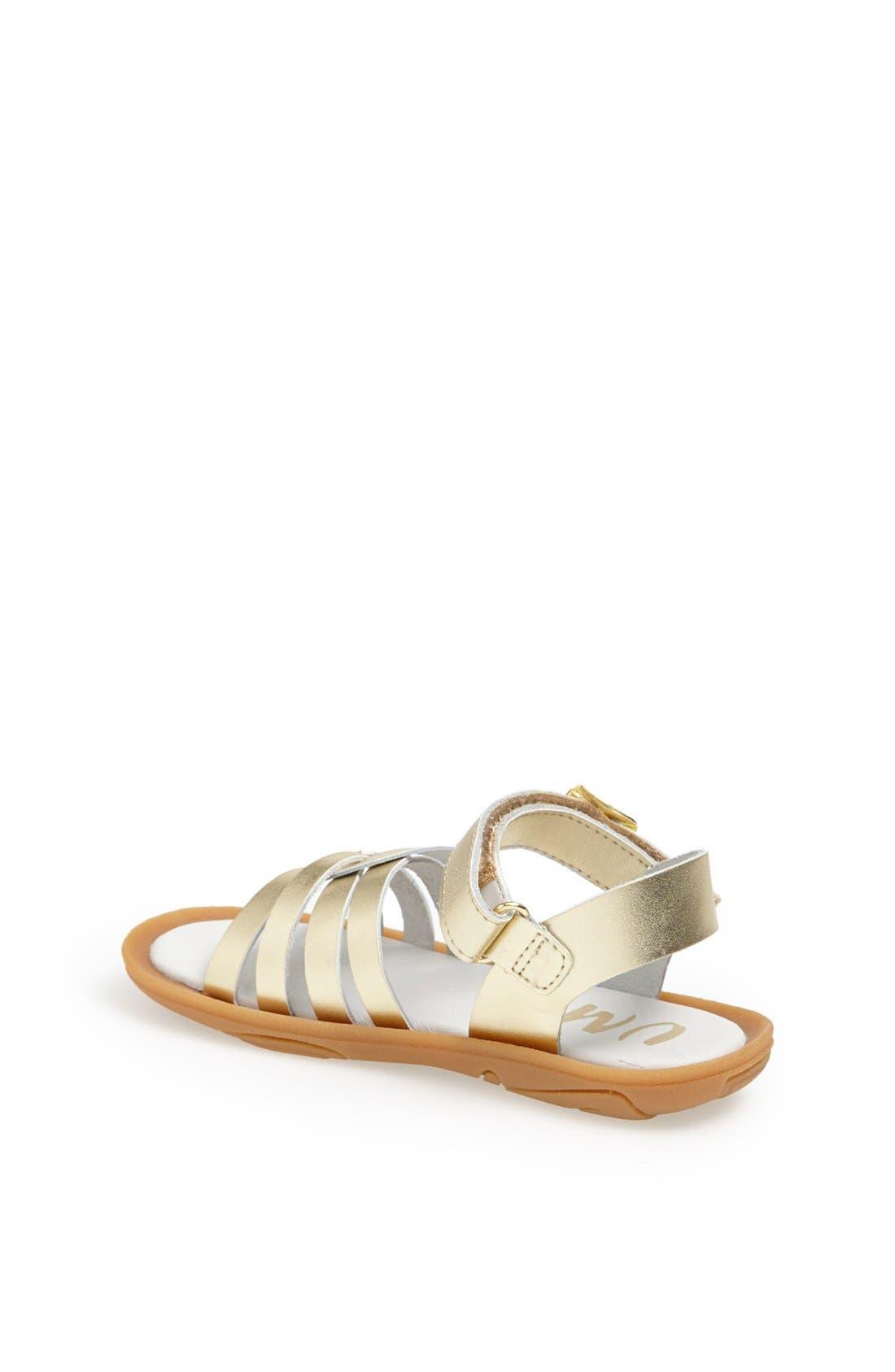 Alternate Image 2  - Umi 'Cora' Ankle Strap Sandal (Walker, Toddler & Little Kid)
