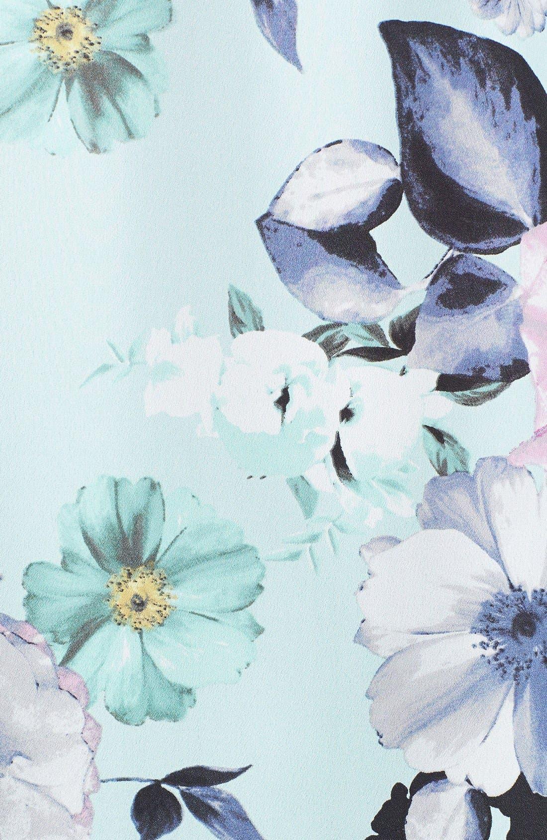 Alternate Image 3  - 1.STATE Floral Print Tee