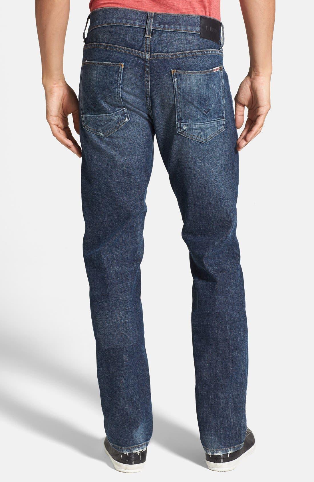 Alternate Image 2  - Hudson Jeans 'Byron' Straight Leg Jeans (Thieves)