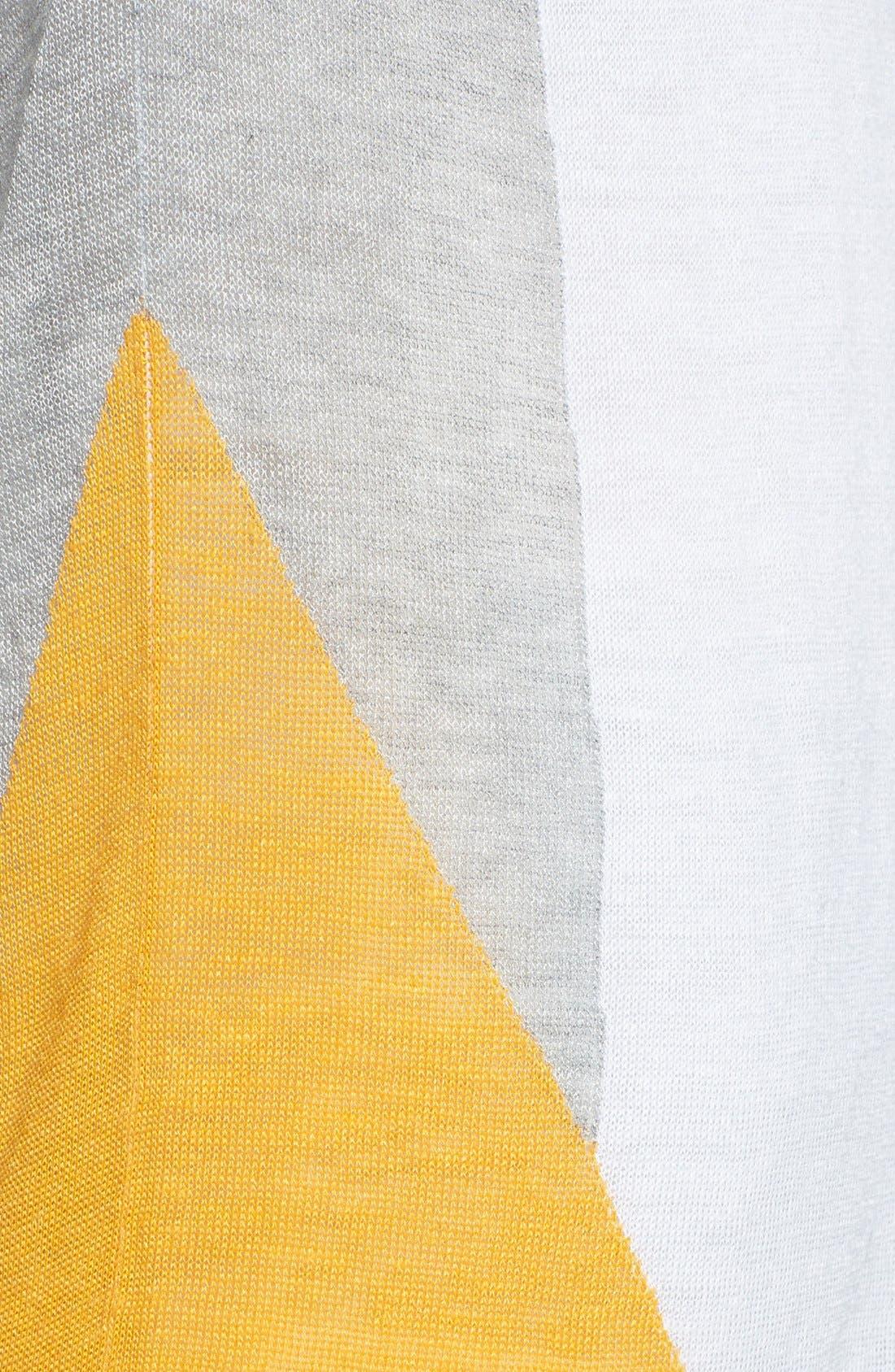 Alternate Image 3  - Trouvé Sheer Colorblock Sweater