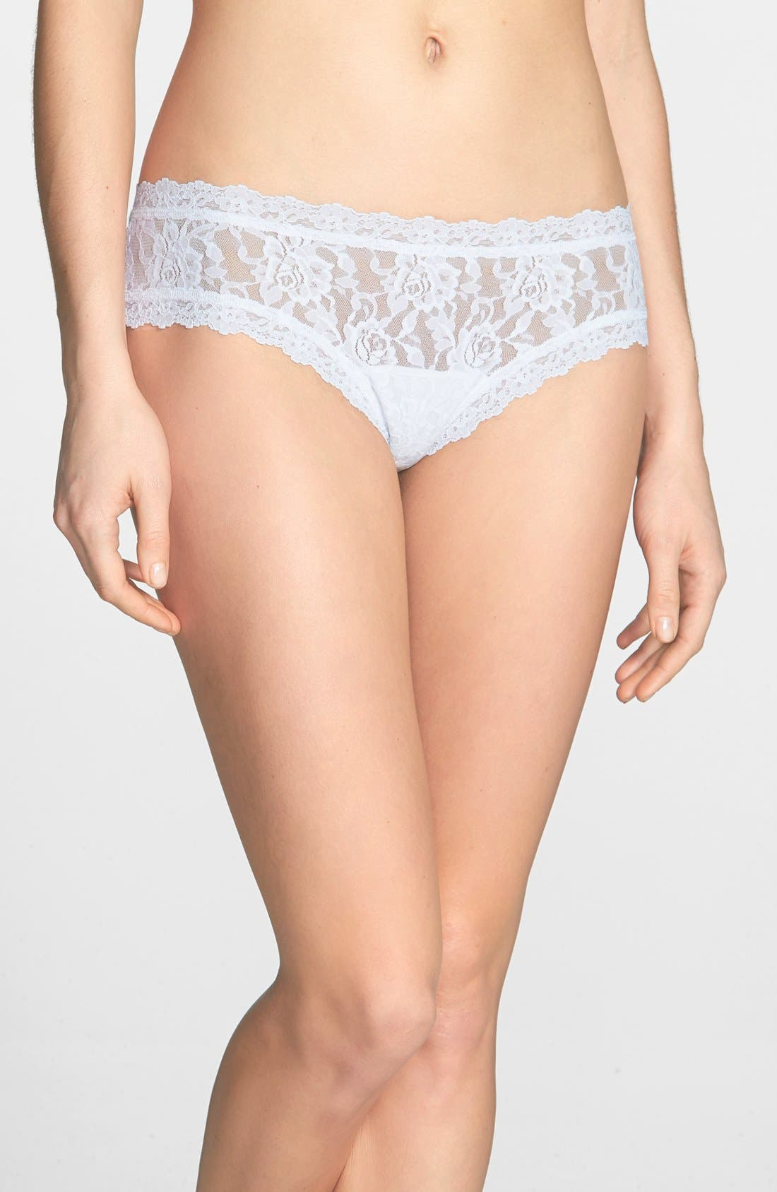 Alternate Image 1 Selected - Hanky Panky 'Just Married' Cheeky Hipster Briefs