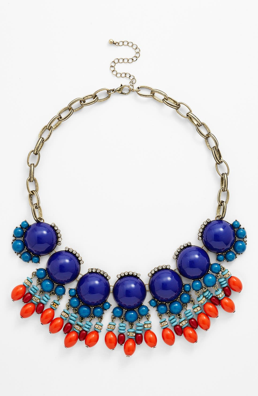 Main Image - Leith 'Boho' Beaded Statement Necklace