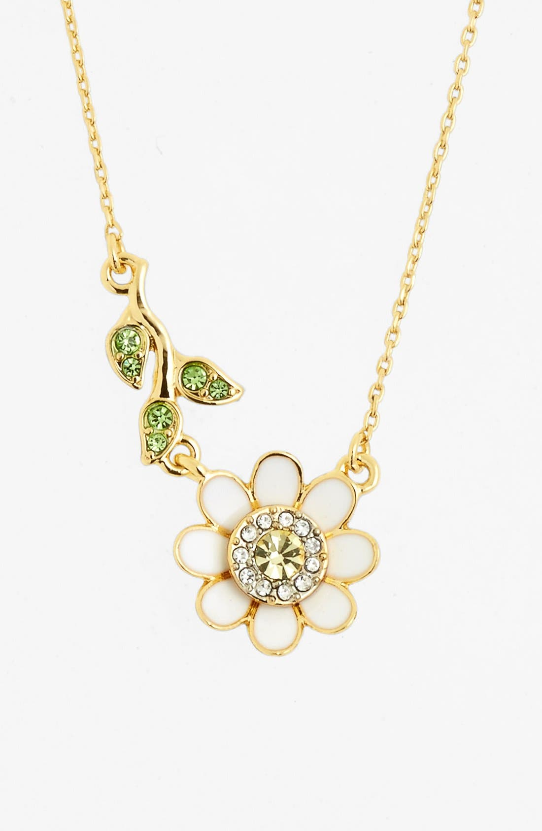 Main Image - Juicy Couture 'Juicy in Bloom' Daisy Pendant Necklace