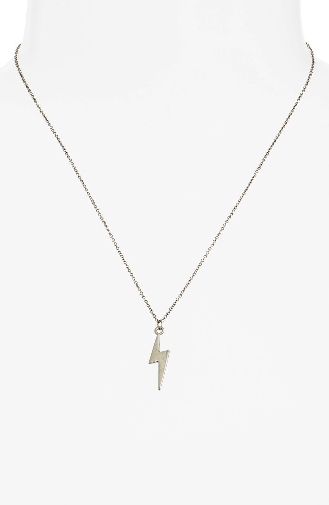 Alternate Image 2  - Rebecca Minkoff 'Jewel Box' Mini Bolt Pendant Necklace