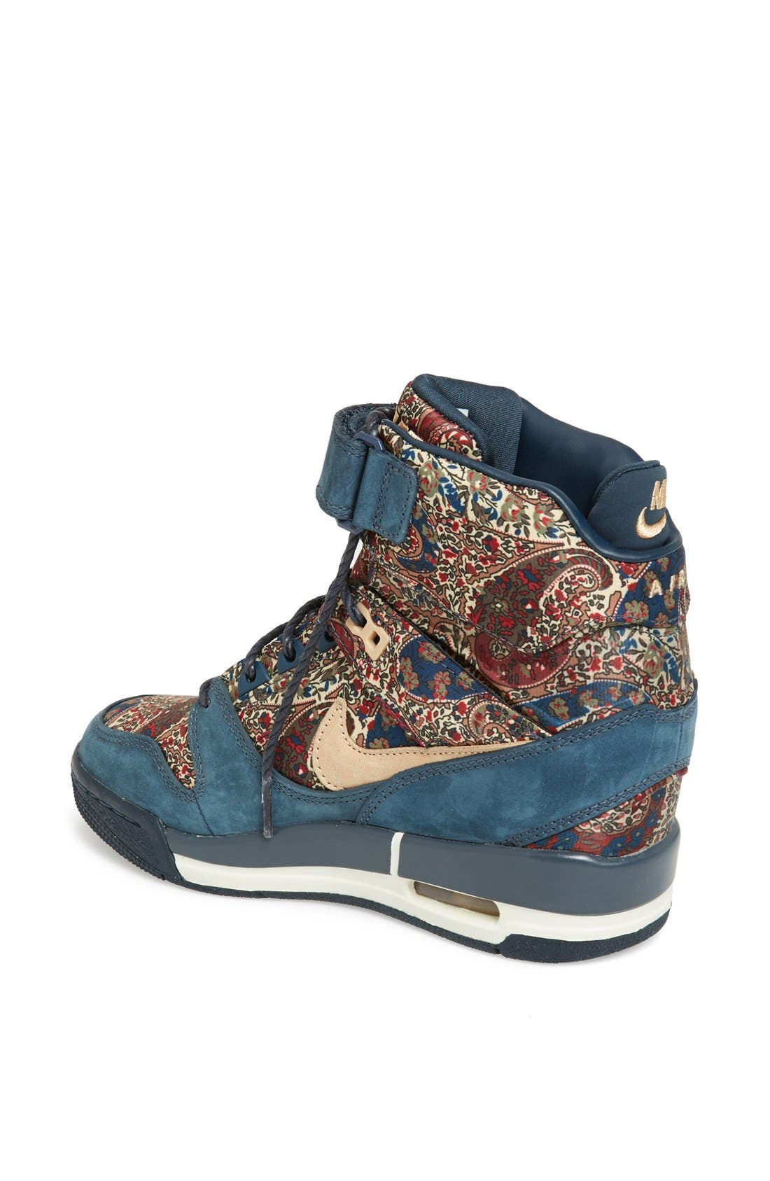 Alternate Image 2  - Nike 'Air Revolution Sky Hi Liberty' Wedge Sneaker (Women)