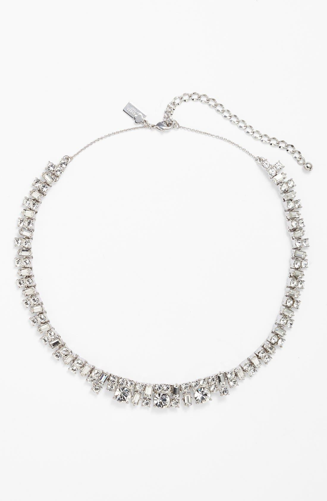 Main Image - kate spade new york 'estate sale' crystal collar necklace