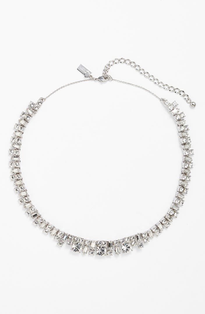 Kate Spade New York Estate Sale Crystal Collar Necklace